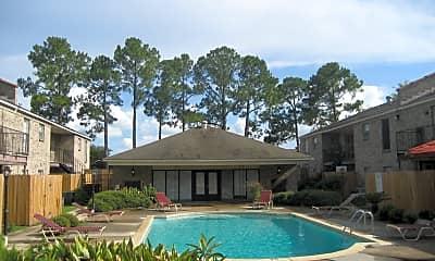 Pool, Towne Oaks, 2