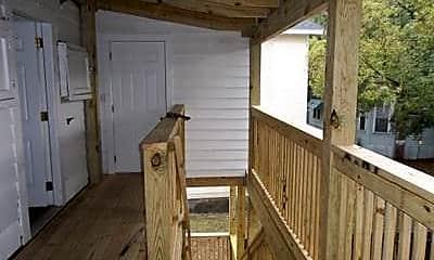 Patio / Deck, 117 E. 4th St. #3, 2
