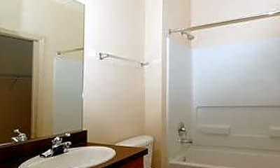 Bathroom, Chaco River I & II, 2