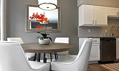 Dining Room, Monarch Apartments, 0