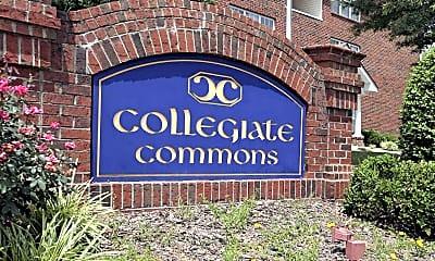 Community Signage, Collegiate Commons, 2