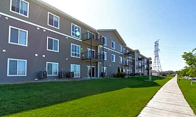 Building, North Ridge Apartments, 0