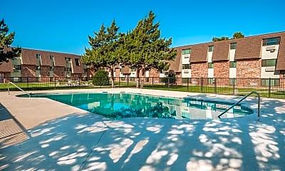 Pool, Amarillo Square, 1