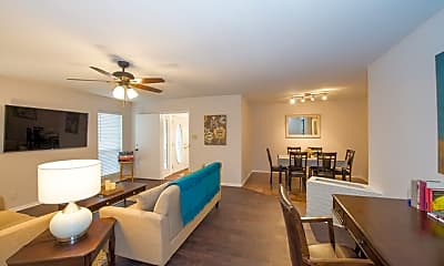Living Room, 105 Gladiola Ln, 1