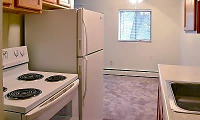 Kitchen, Congress Run Apartments, 1