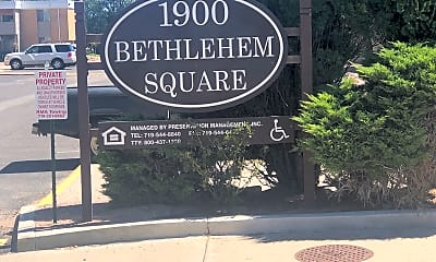 Bethlehem Square Apartments, 1