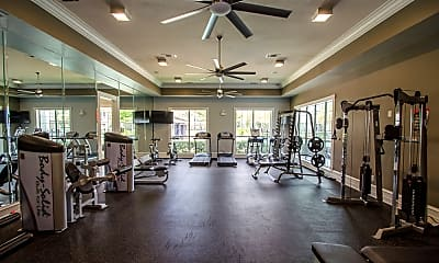 Fitness Weight Room, Advenir at Woodbridge, 2