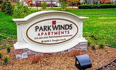 Community Signage, Park Winds Apartments, 0