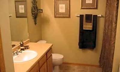 Bathroom, Honey Creek Apartments, 2