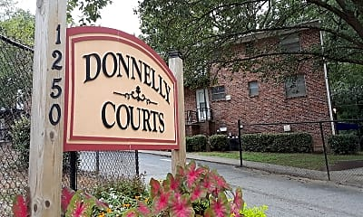 Donnelly Courts, 1