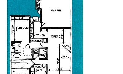 Bedroom, 5473 S Jones Blvd, 2