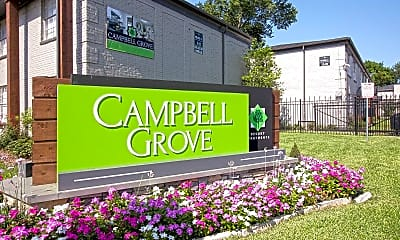 Community Signage, Campbell Grove, 2