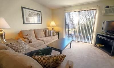 Living Room, Princeton Belvidere Apartments, 1