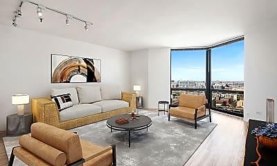 Living Room, 1120 N Lasalle, 0