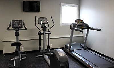 Fitness Weight Room, Oxbow Farms, 2