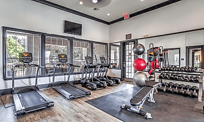 Fitness Weight Room, Northern Cross Apartments, 2