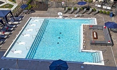 Pool, Watermark at Chesterfield Village Apartments, 2