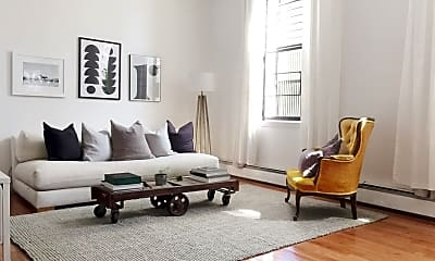 Living Room, 199 W 134th St 1-A, 1
