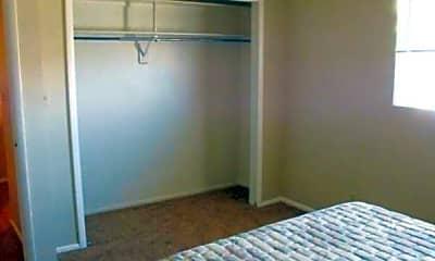 Bedroom, Village Apartments, 2