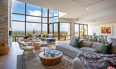 Living Room, 4337 Marina City Dr PH38, 0