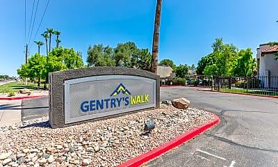 Community Signage, Gentry's Walk, 2