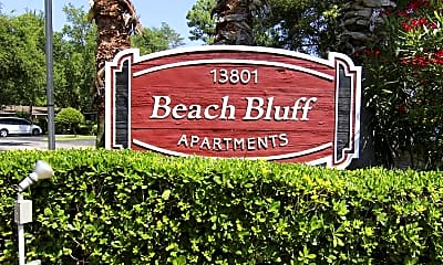 Community Signage, Beach Bluff, 2