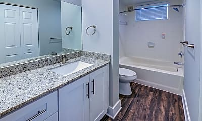 Bathroom, The Flats at Rosemary Square, 2