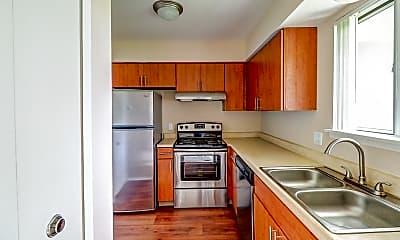 Kitchen, Clinton Place Apartments, 1