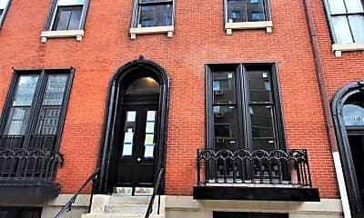 Building, 1017 St Paul St, 1