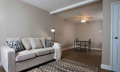 Living Room, Westport Apartments, 0