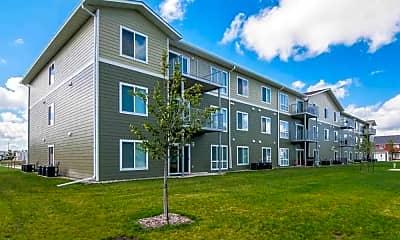 Building, Agassiz Apartments, 0