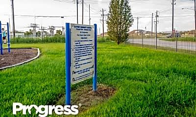 Community Signage, 4722 Black Stone St, 2