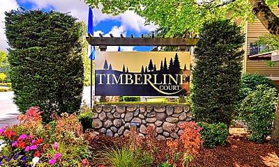 Community Signage, Timberline Court, 0