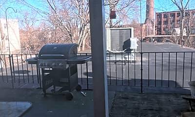 Patio / Deck, 109 Lafayette Square, 1