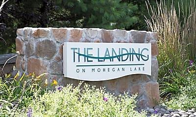 The Landing on Mohegan Lake, 1