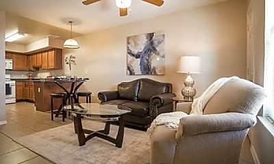 Living Room, Castner Palms, 1