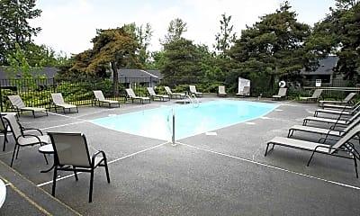 Pool, Meridian West Apartments, 1