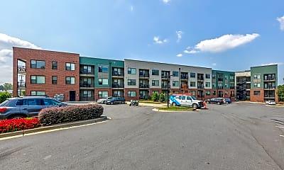 Building, Asbury Flats, 1
