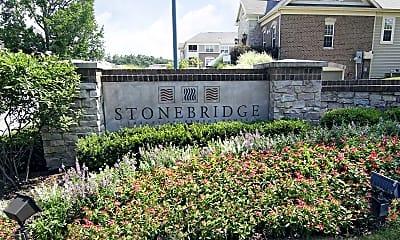 Community Signage, StoneBridge Luxury Apartment Homes, 2