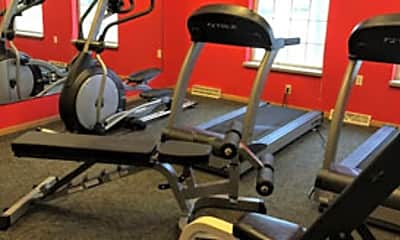Fitness Weight Room, Richmond Hill Estates Apartments, 2