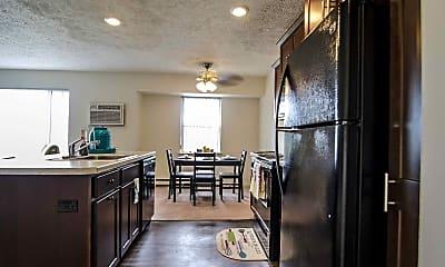 Kitchen, Woodbrook Village Apartments, 0