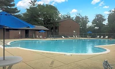 Pool, White Oak Gardens, 1