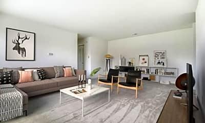 Living Room, Indian Run, 1