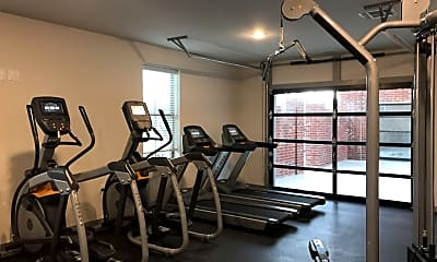 Fitness Weight Room, Thrive Argenta, 2