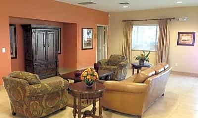 Living Room, Valencia Gardens Apartments, 2