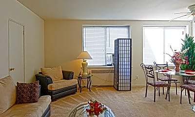 Living Room, Prince Georges Apartments, 1