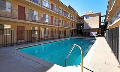 Pool, Villa Sorrento Apartments, 1