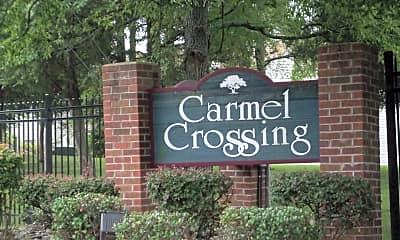 Community Signage, 10904 Carmel Crossing Rd, 2