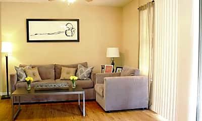 Living Room, Hidden Palms, 1