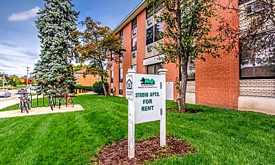 Community Signage, MSU College Of Law Apartments, 1